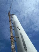 CPECC Hami 50MW Tower CSP project starts receiver hoisting